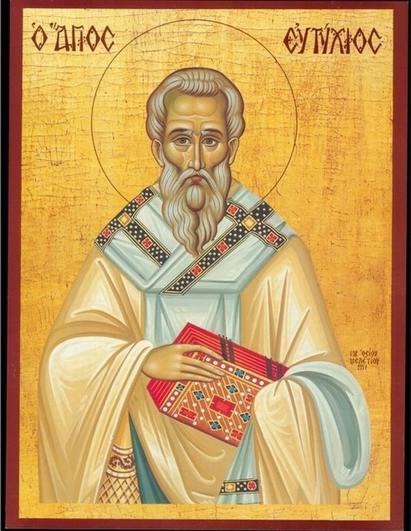 19 квітня віряни вшановують пам'ять архієпископа Константинопольського Євтихія
