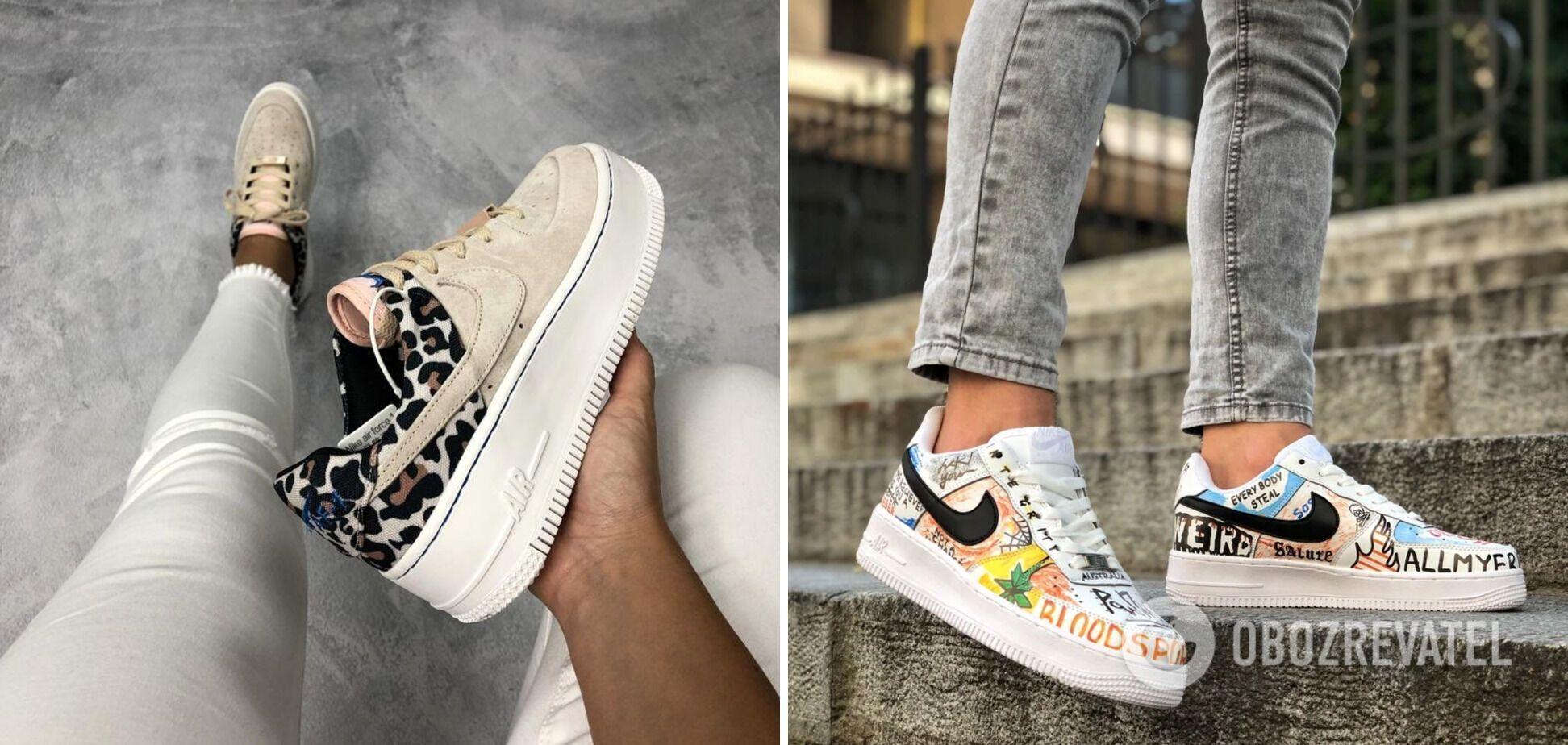 У 2021 року дизайнери випускають кросівки з цікавими принтами