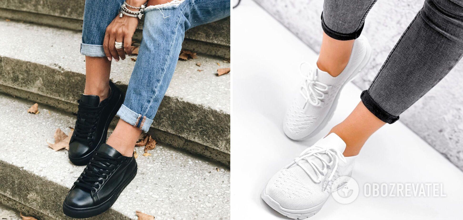 Класичні кросівки з тонкою підошвою