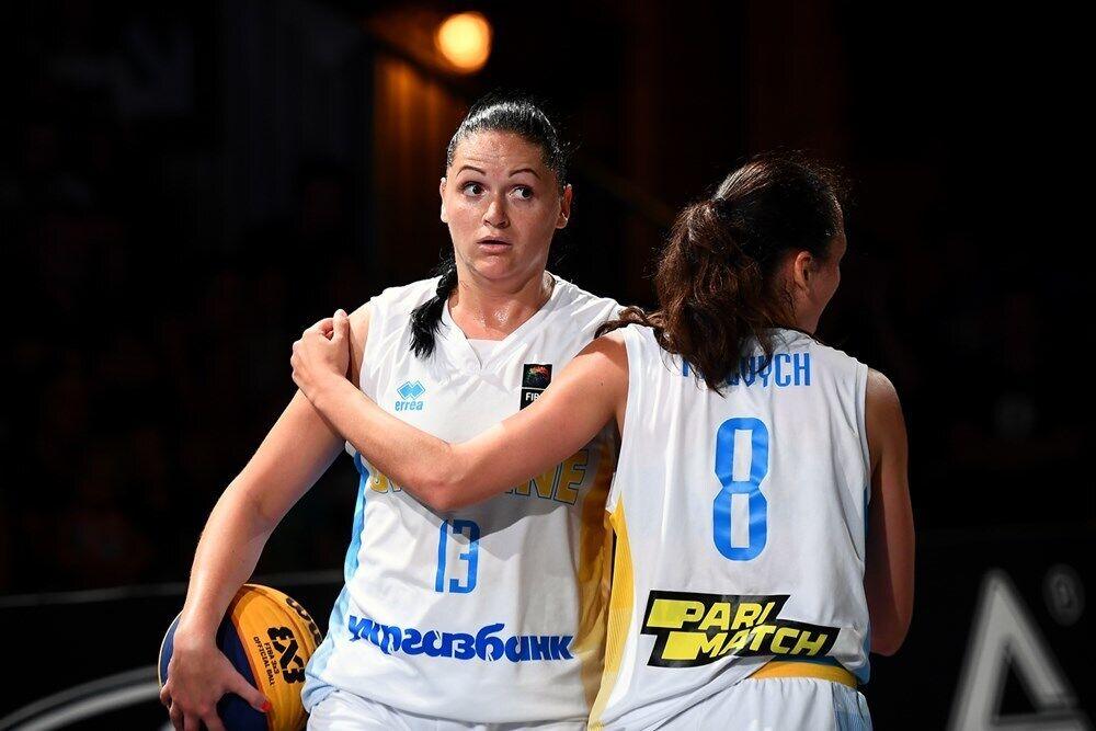 Баскетболістки збірної України