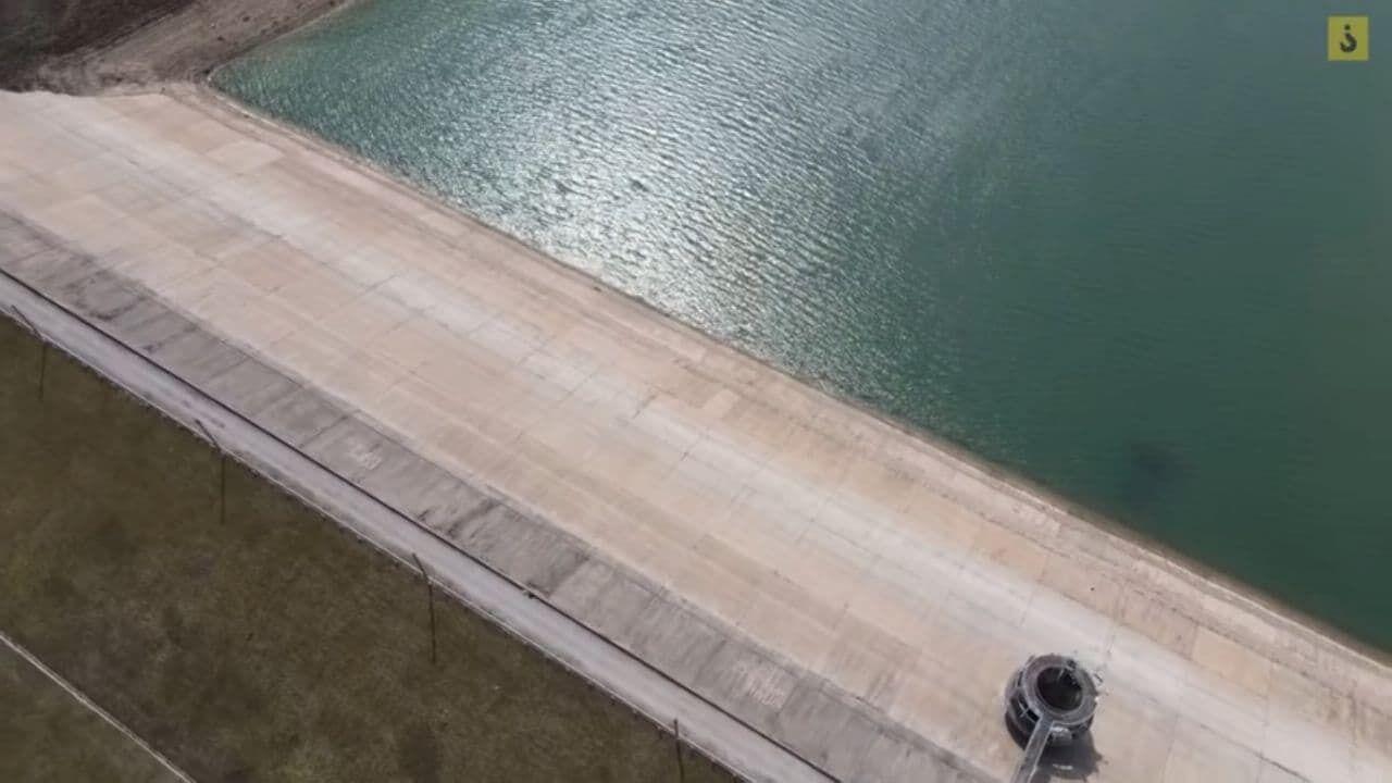 Ранее в Балановском водохранилище умещалось 5,1 млн кубометров воды