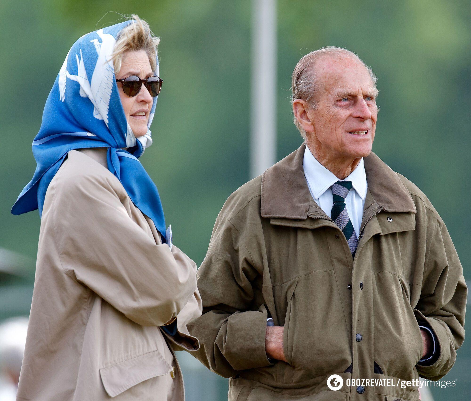 Пенелопа Бредборн була близькою подругою принца Філіпа.