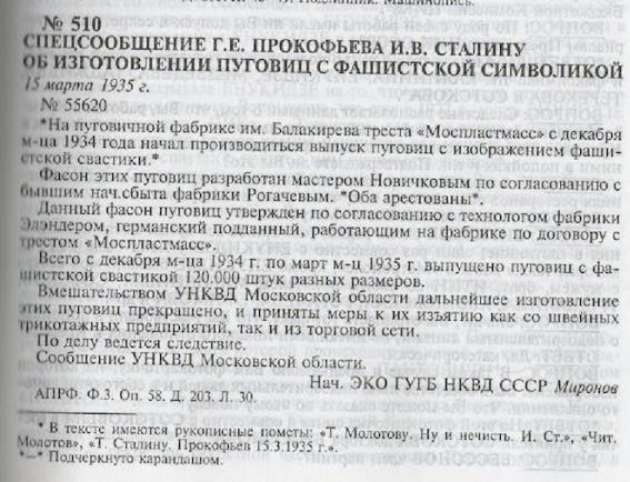 """В СРСР гуляв фейк про ґудзики """"із зображенням нацистської свастики"""""""