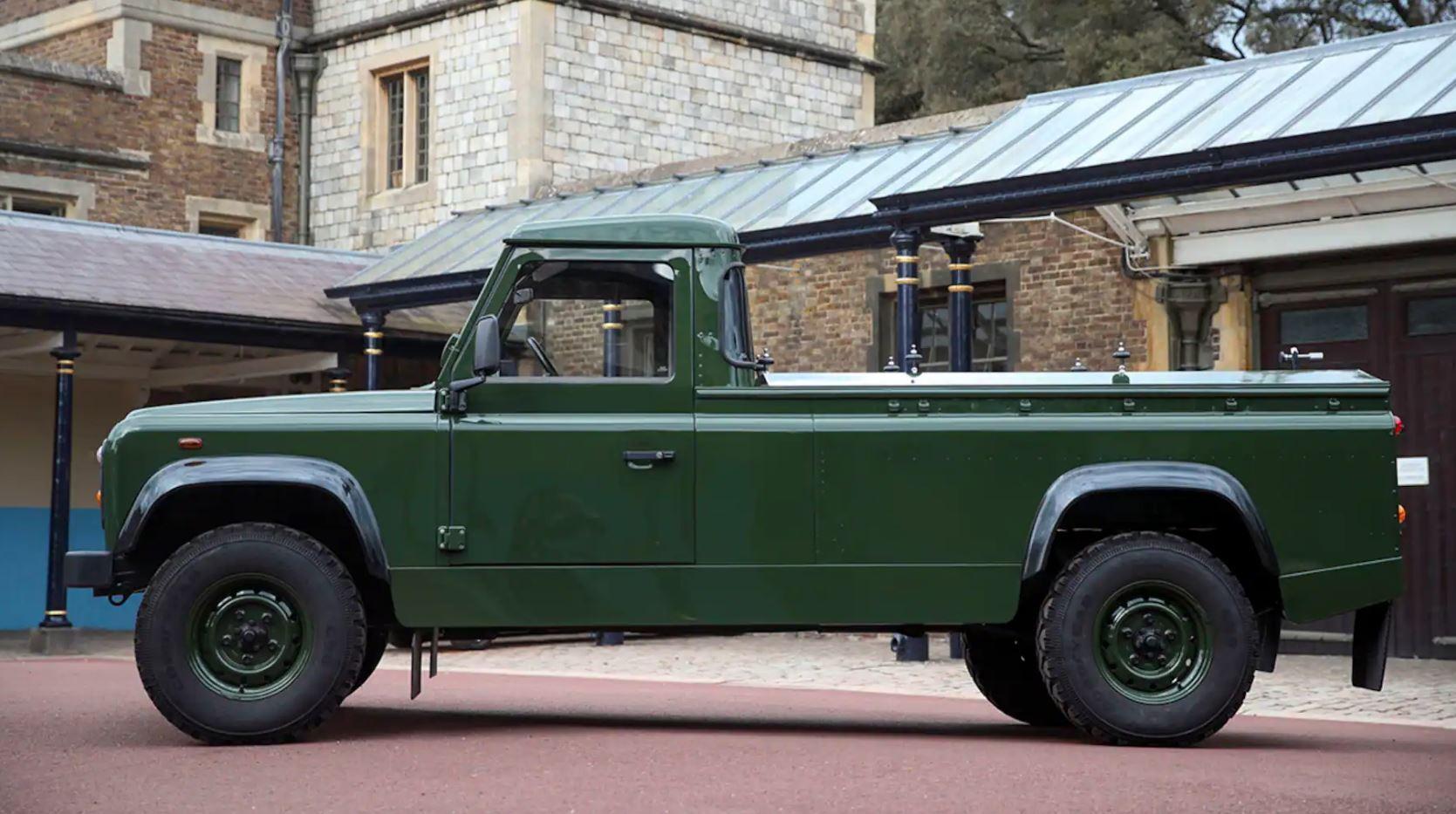 Land Rover Defender TD5 130, який розробляв сам принц Філіп