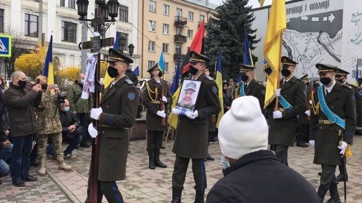 Олексія Мамчія поховали на Алеї Слави у Чернівцях