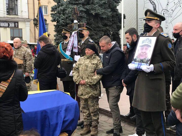 Олексій Мамчій загинув під час ворожого обстрілу на Донбасі
