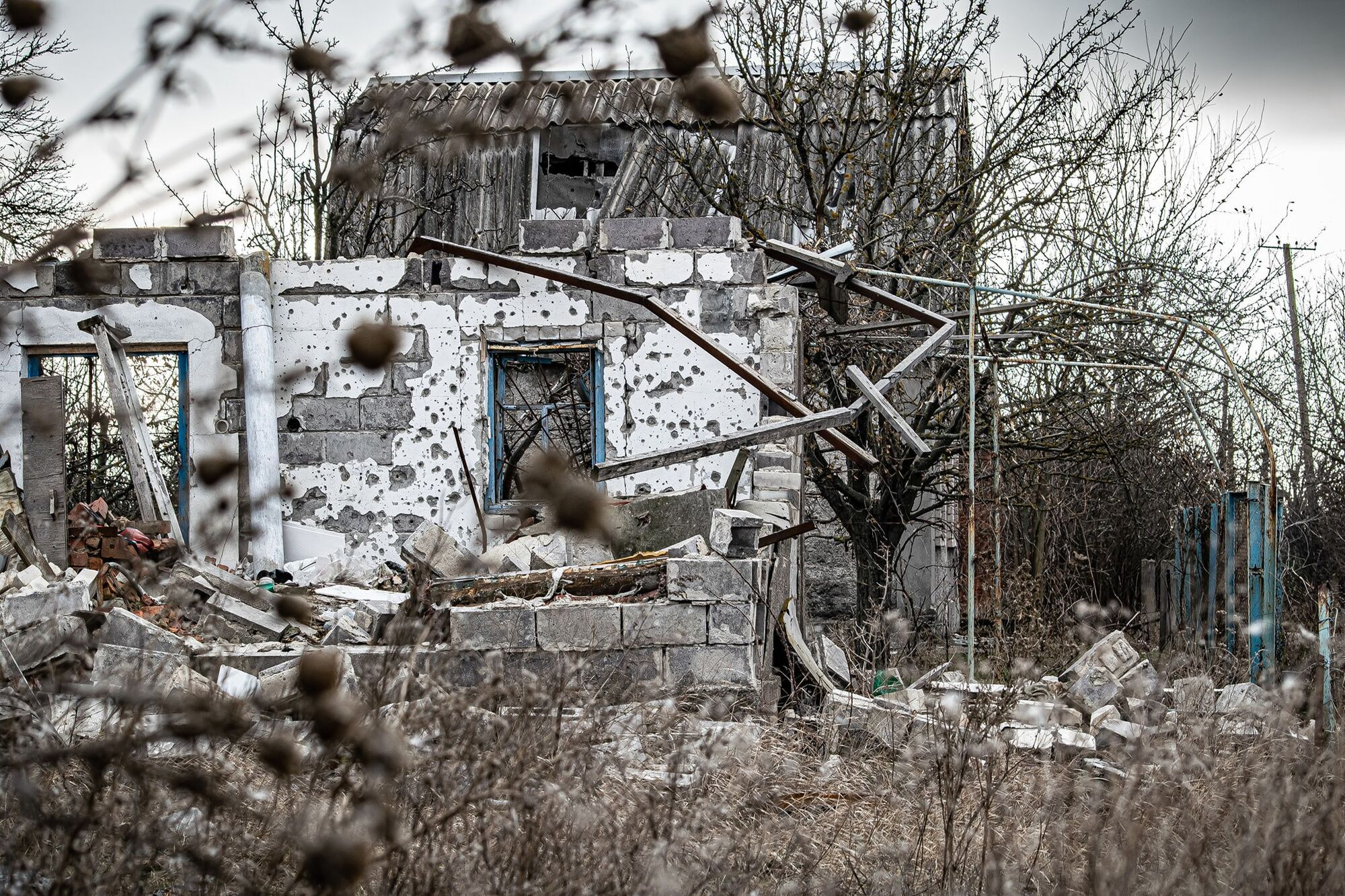 Село Водяне розташоване майже на лінії вогню
