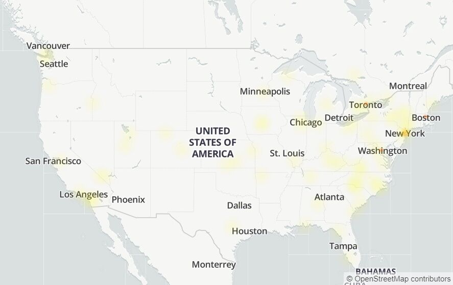 Карта сбоев