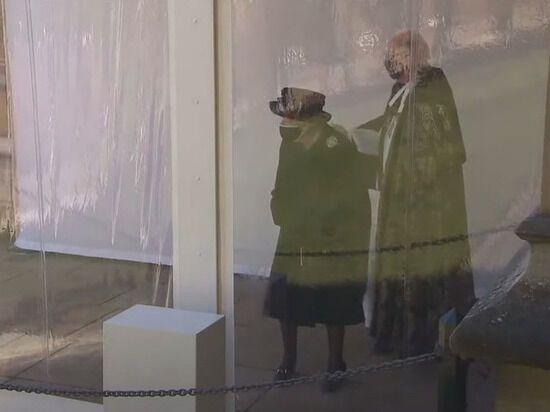 Єлизавета II розплакалася на похороні свого чоловіка