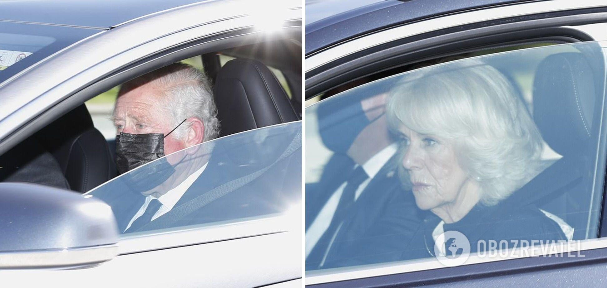 Принц Чарльз і Камілла Паркер прибули на похорон принца Філіпа