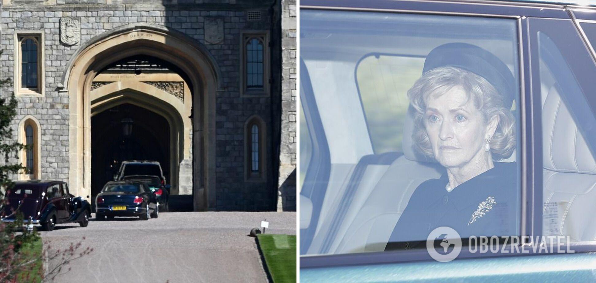 Пенелопа Бредборн прибула на похорон принца Філіпа