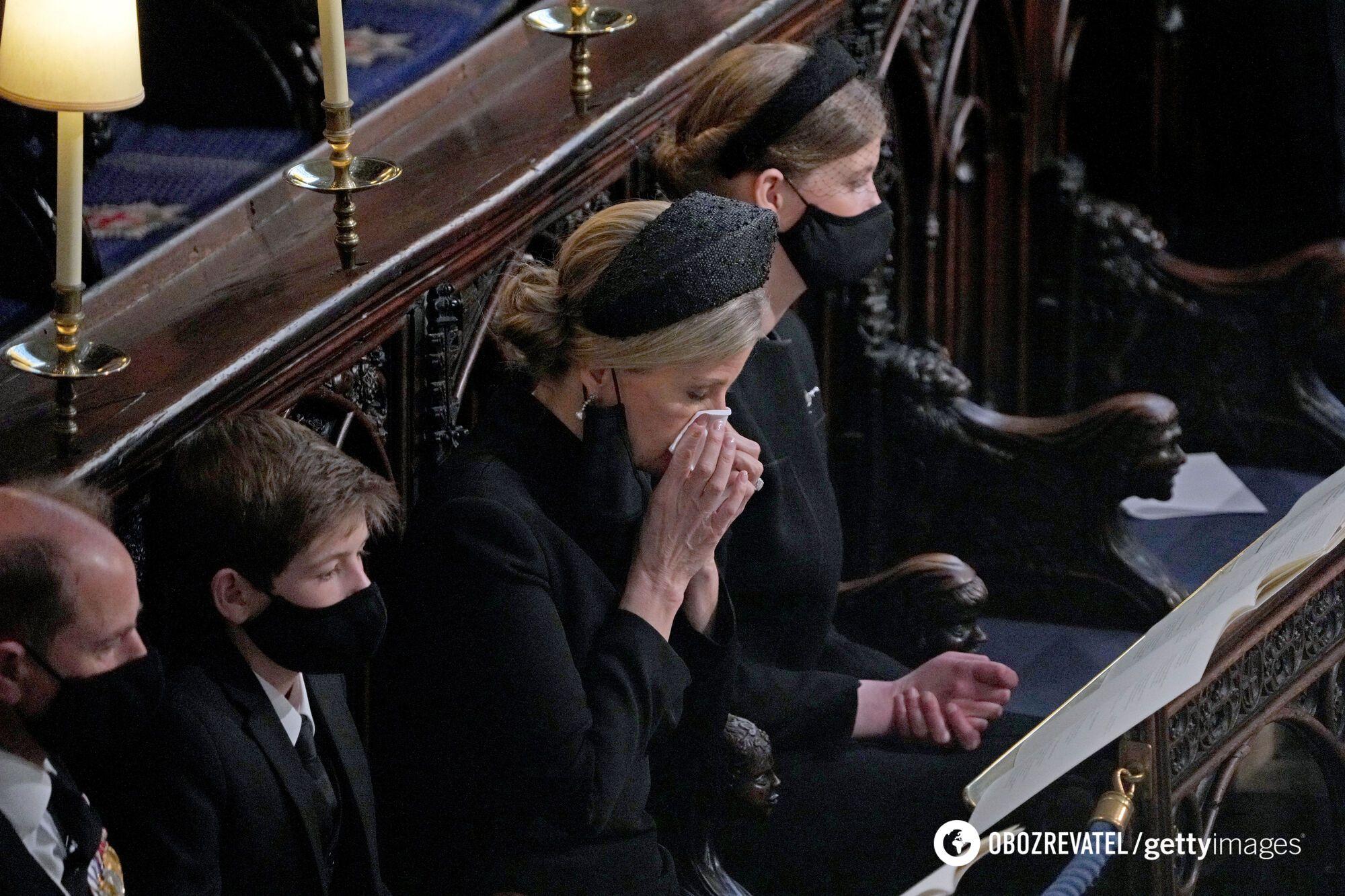 Кто присутствовал на церемонии прощания с принцем Филиппом