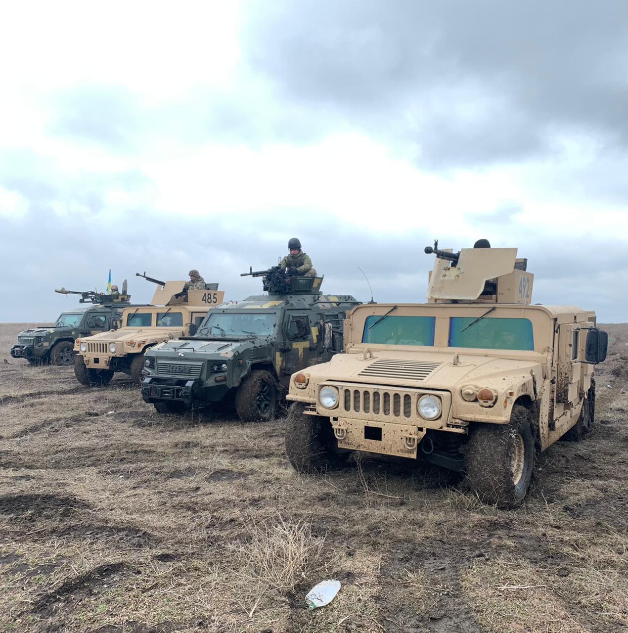 Відпрацьовувалися висунення у визначений район, тактичні елементи оборони й стрільба зі штатної зброї підрозділу