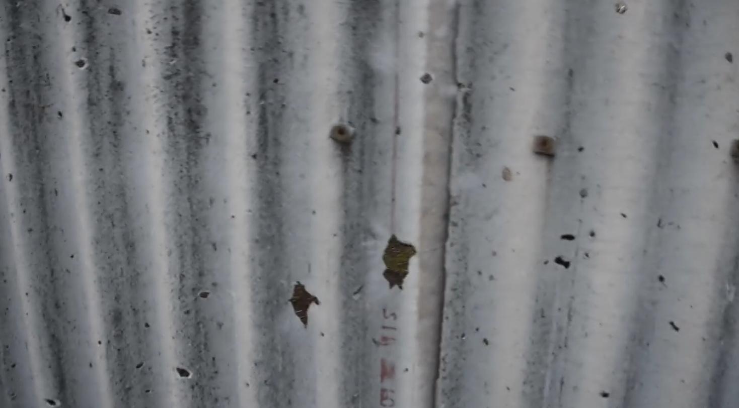 Последствия обстрела жилого сектора в Зайцево.