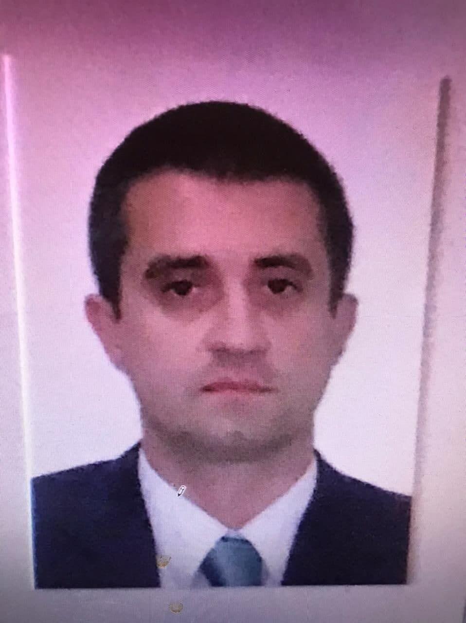 Задержанный украинский консул Александр Сосонюк.