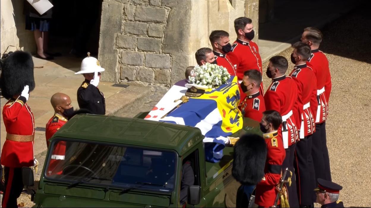 Принца Філіпа поховали у Великобританії