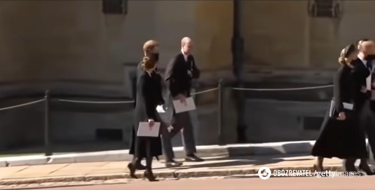 Принцы Гарри и Уильям пообщались после похорон своего дедушки