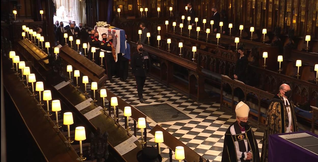 Принца Филиппа похоронили в Великобритании