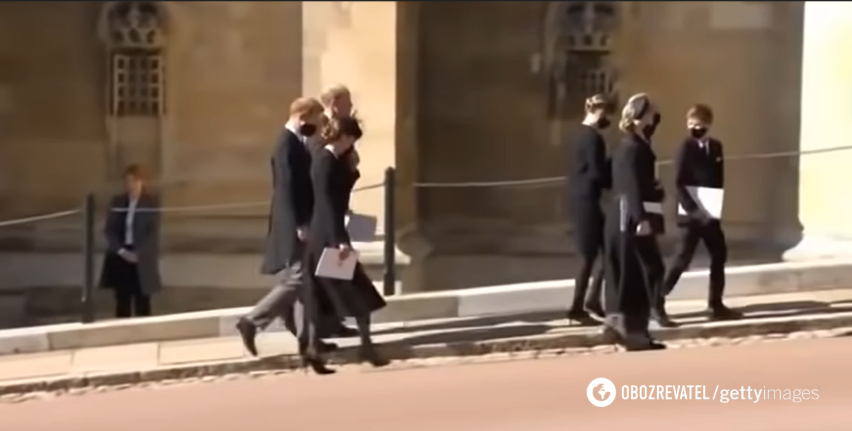 Прин Гарри, принц Уильям и Кейт Миддлтон