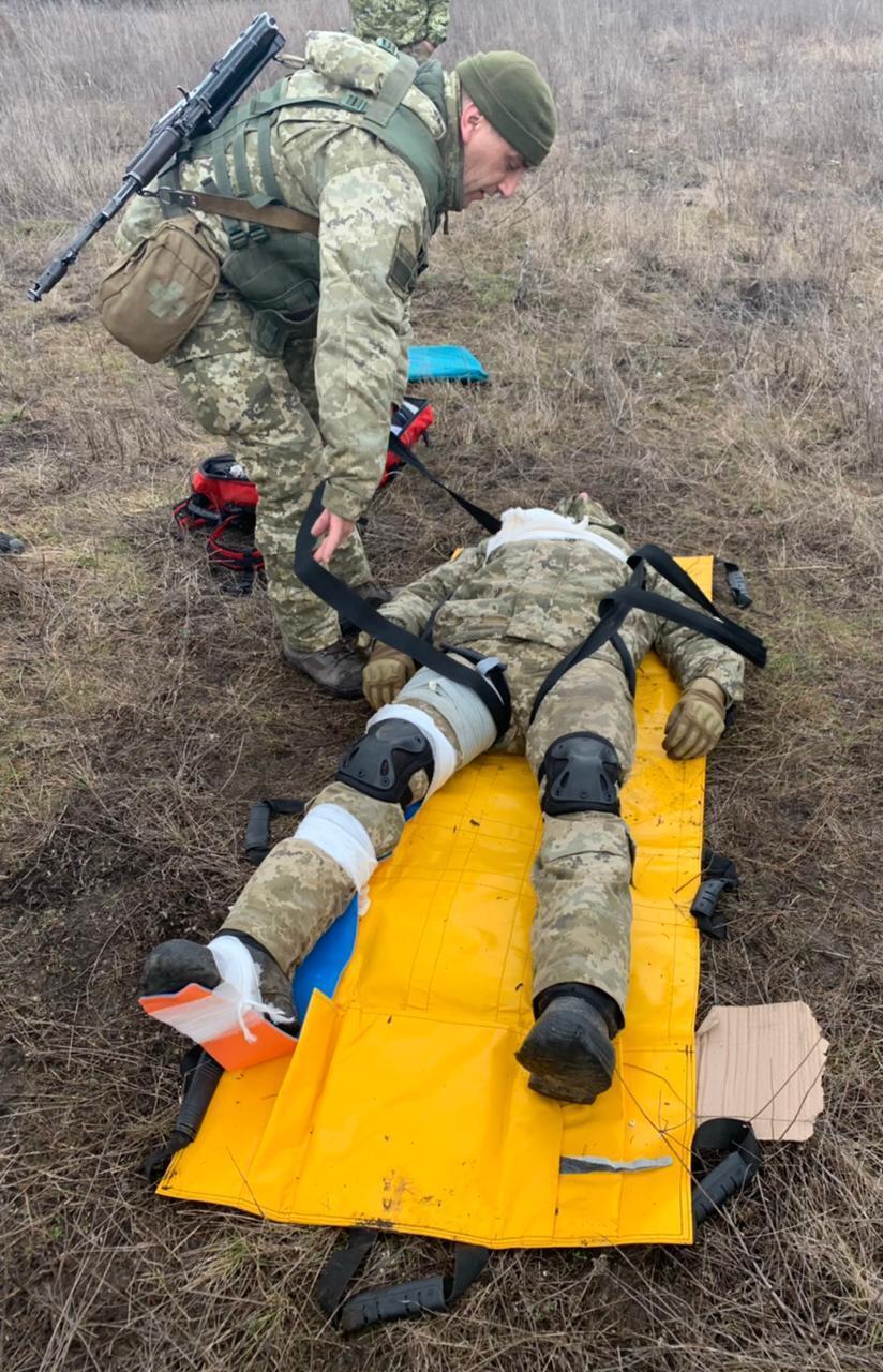 Було проведено навчально-бойові стрільби, тренування з управління вогнем для відбиття нападу противника, тактики дій і тактичної медицини