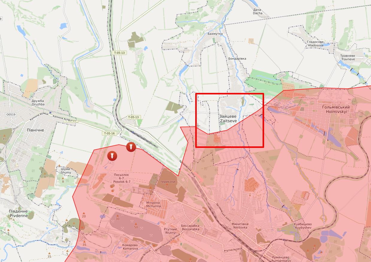 Под обстрел попал поселок Зайцево.