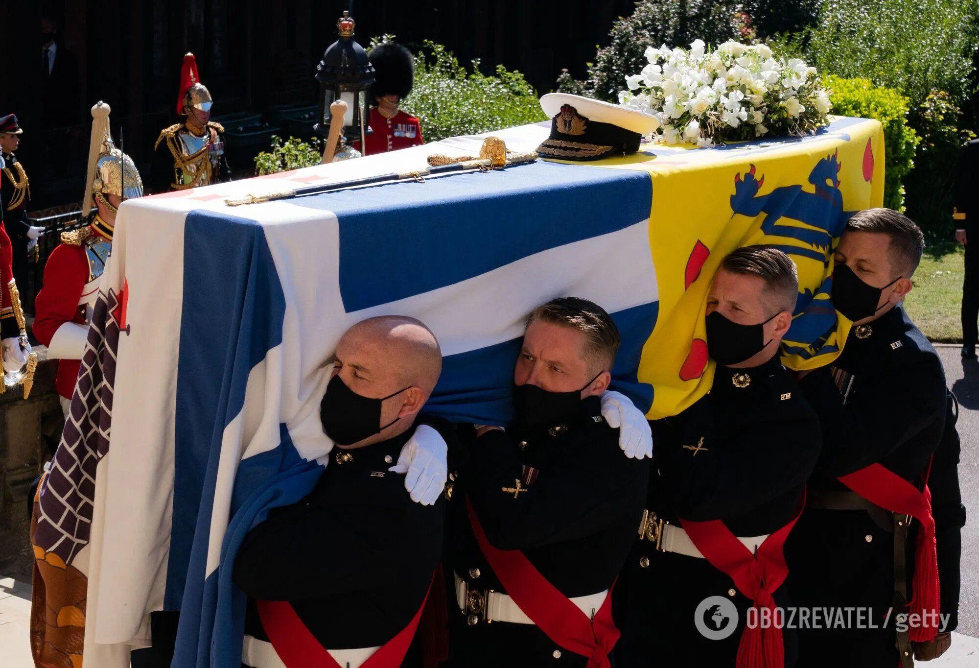Похороны принца Филиппа.