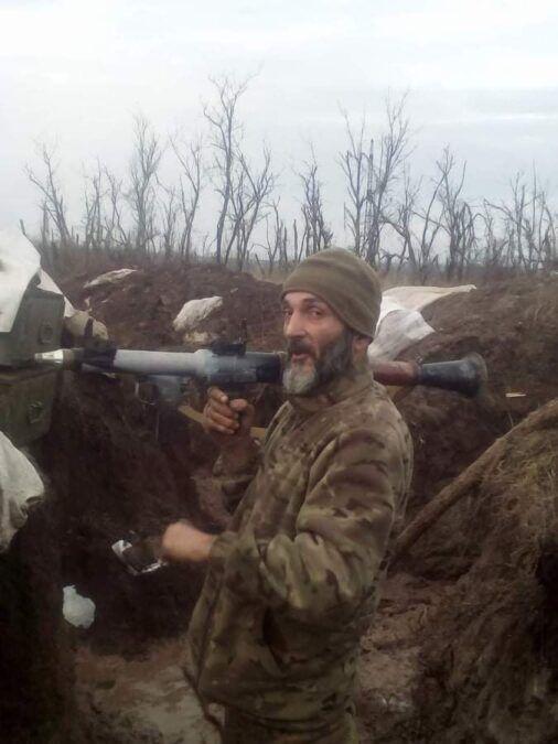 Вбитий військовий на Донбасі .