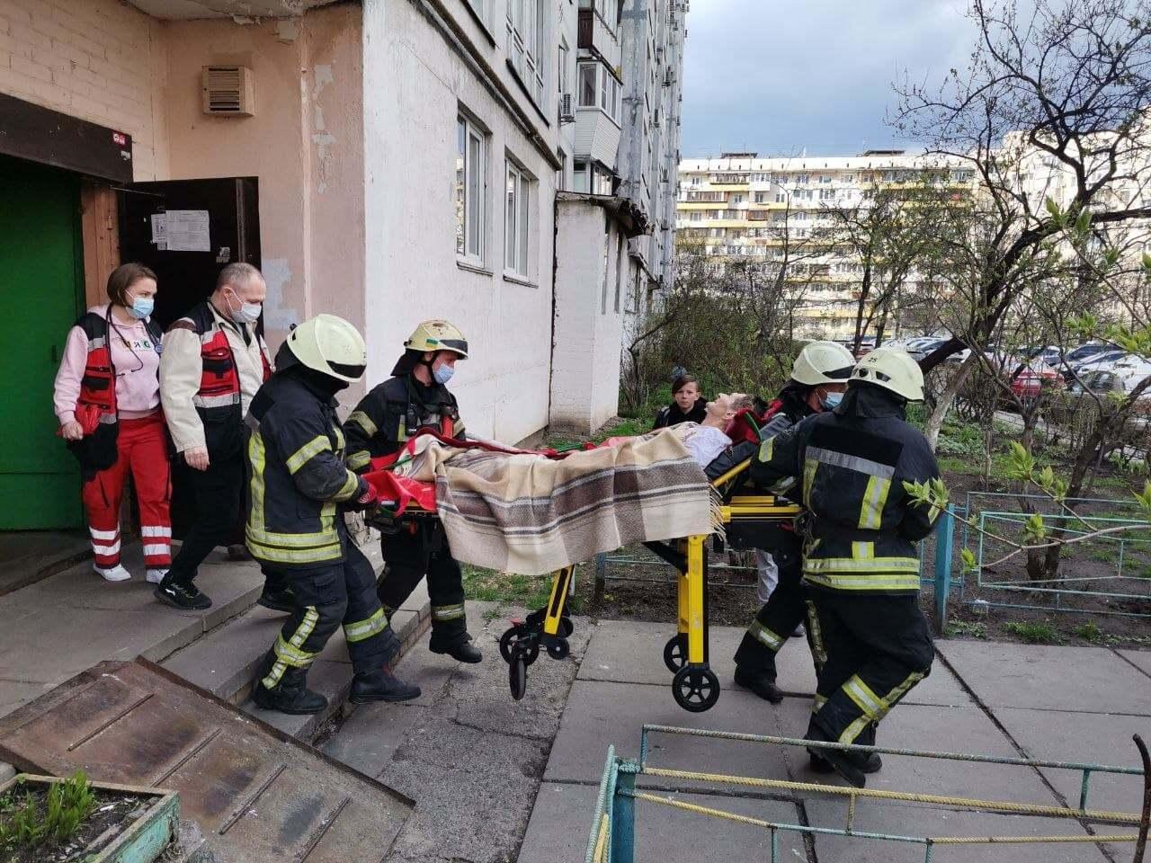 Подія сталась в Оболонському районі Києва.