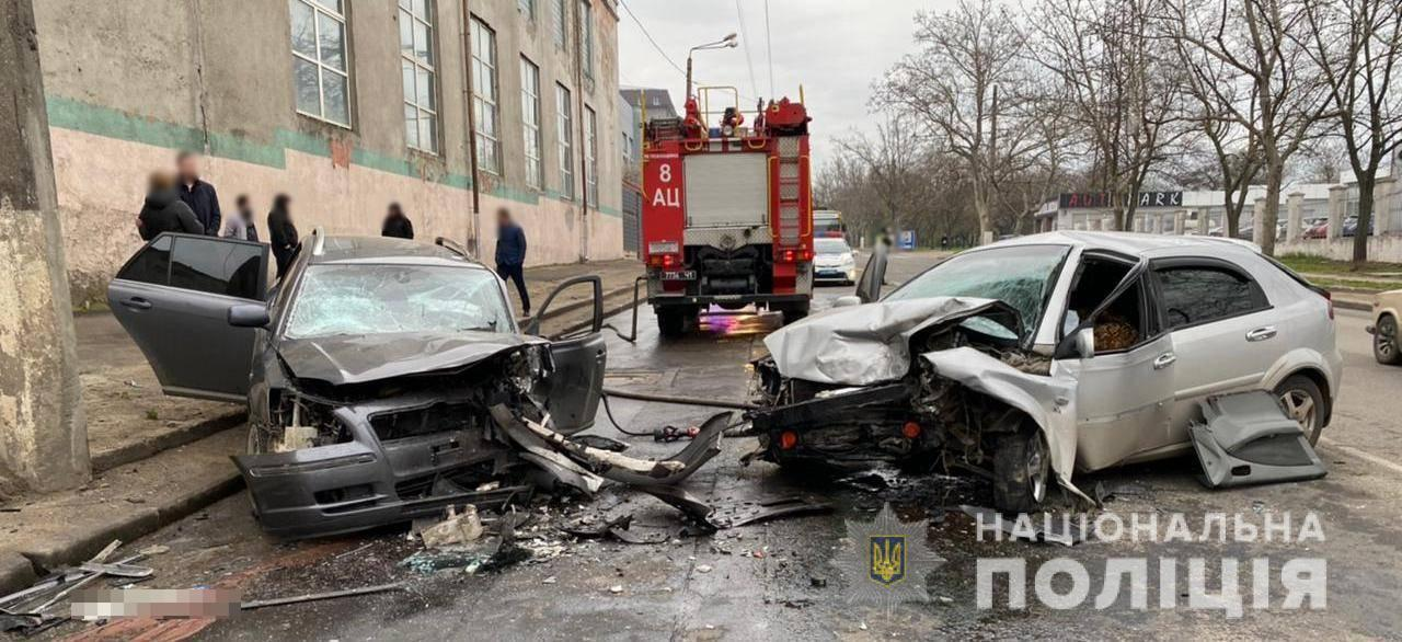ДТП произошло примерно в 6 утра на улице Мельницкой
