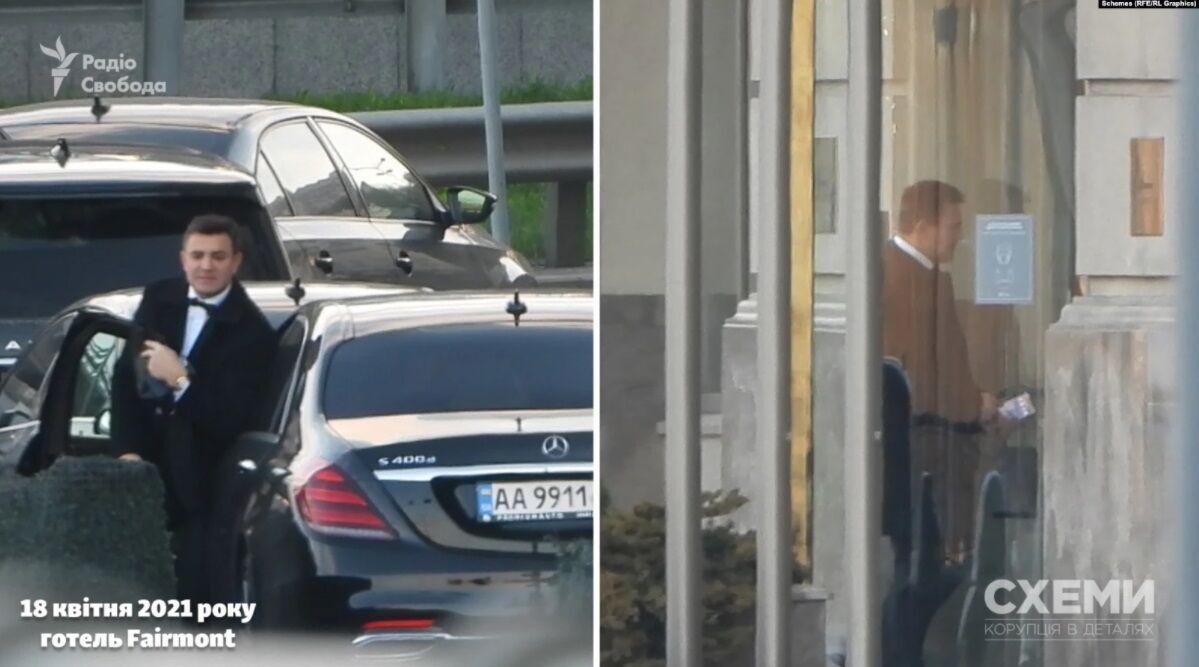 Тищенко приехал в отель в 19:00.