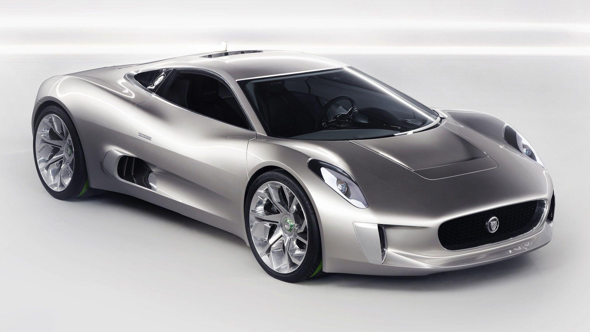 Jaguar C-X75 – амбициозный суперкар