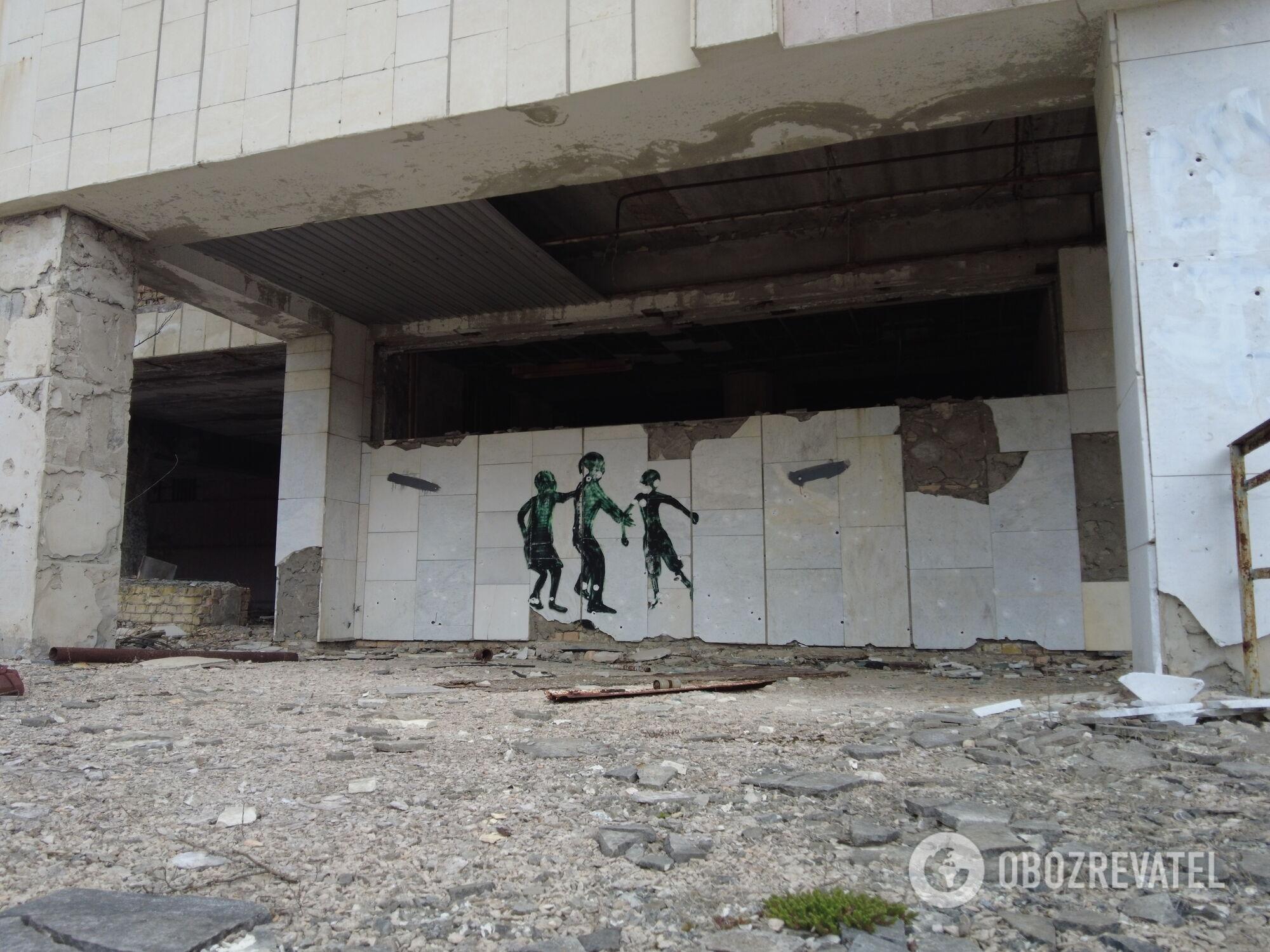 Вулиці покинутої Прип'яті