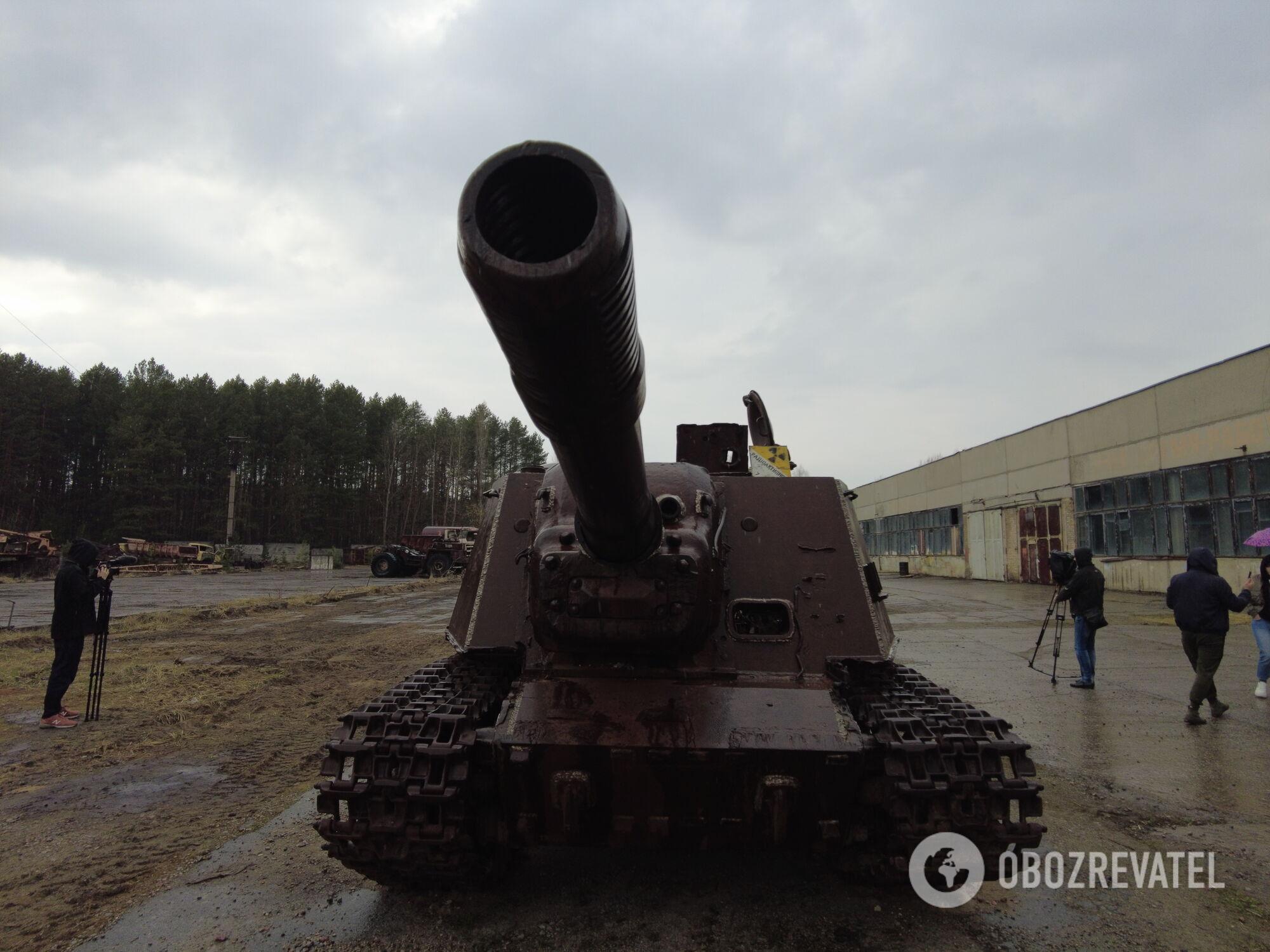 Су-124 у Прип'яті
