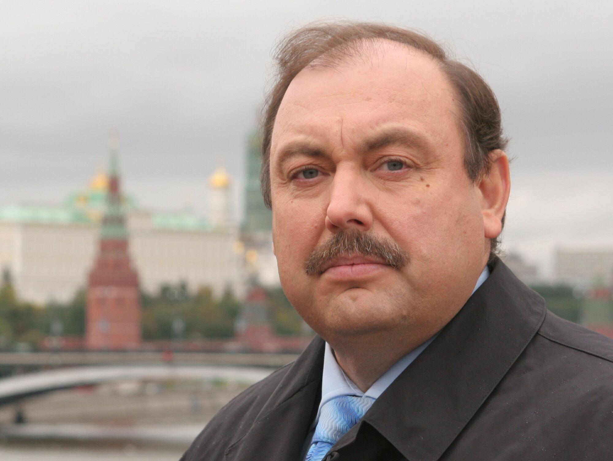 Российский оппозиционер и бывший полковник ФСБ Геннадий Гудков