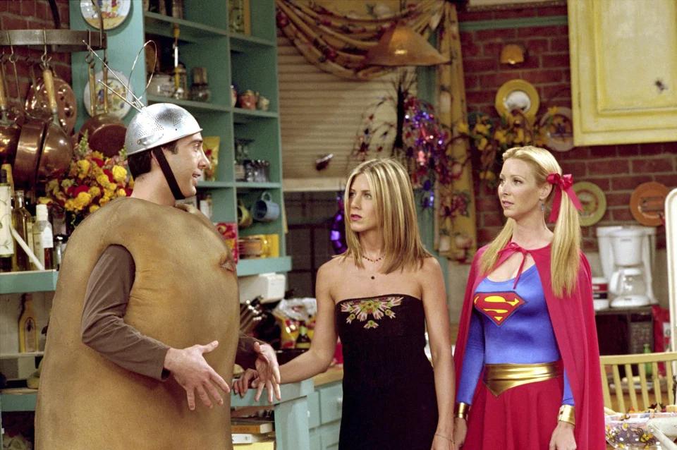 Знаменитість з'явиться в гелловінському костюмі картоплі Росса Геллера з восьмого сезону