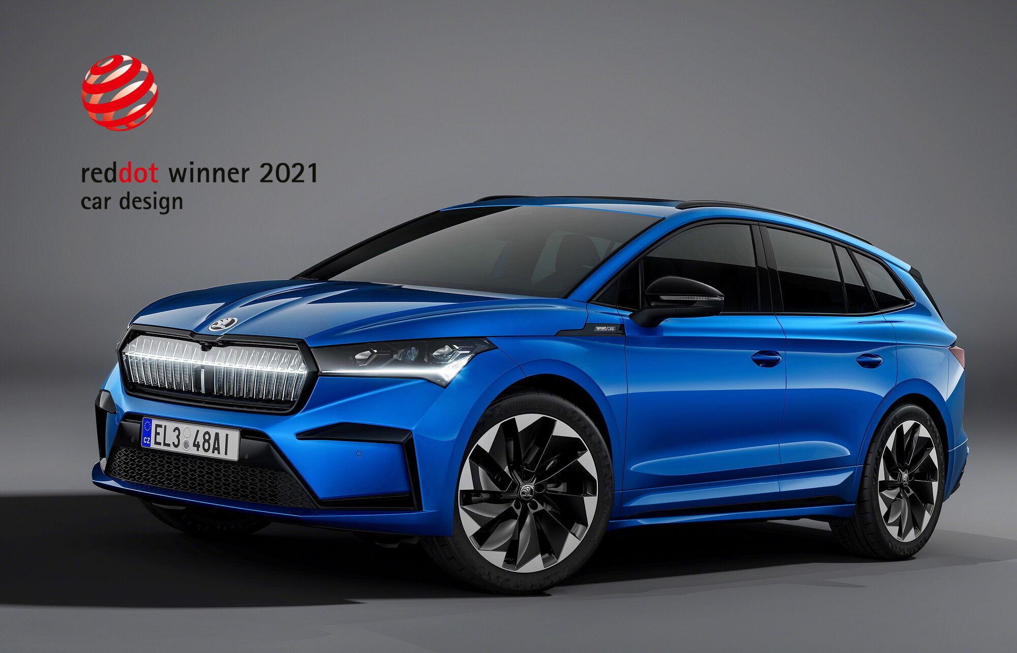 Новый электромобиль Enyaq iV принес компании 16-ю награду конкурса Red Dot Award