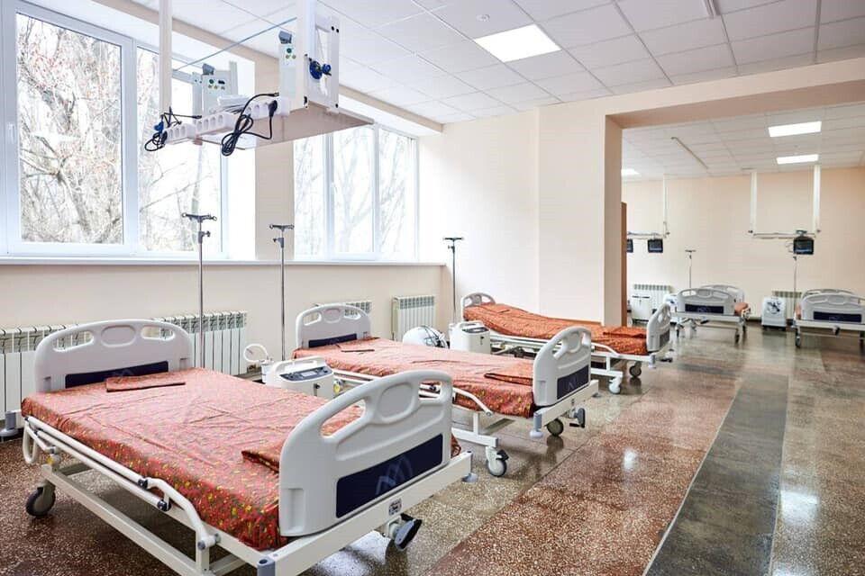 Після ремонту Дніпровська клінічна лікарня на залізничному транспорті може прийняти одночасно 110 хворих на коронавірус