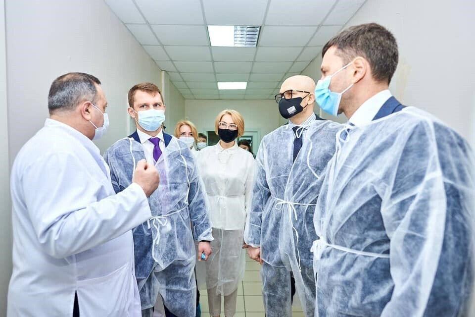 """Реанімацію й осучаснені відділення """"Укрзалізниця"""" змогла відкрити за підтримки Дніпропетровської ОДА та Мінінфраструктури"""