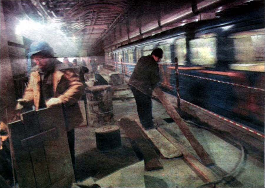 На перетворення евакуаційної платформи на станцію знадобилося близько пів року.