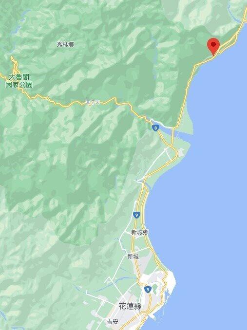 Катастрофа произошла на территории уезда Хуалянь