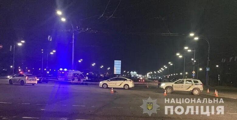 Поліція на місці аварії.