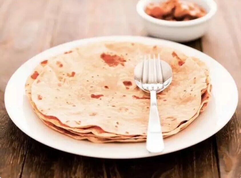Чапаті – індійський хліб, який Діпак Ахуджа їсть на сніданок
