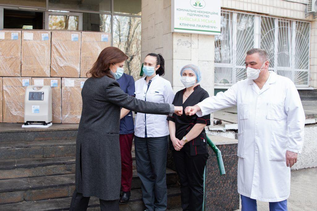 Марина Порошенко наголосила на необхідності завезення в країну необхідної кількості вакцини від коронавірусу