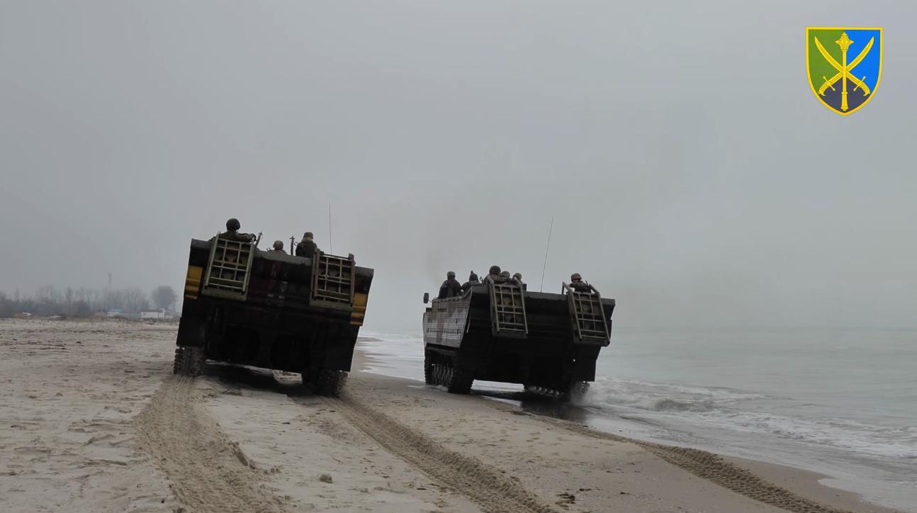 Навчання ЗСУ відбулися на узбережжі Чорного та Азовського морів