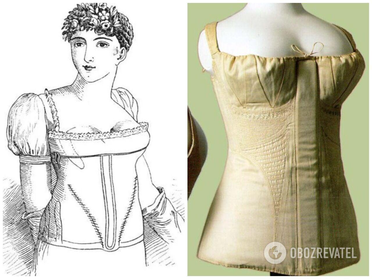 В Европе 19 века самыми красивыми считались те, у которых между грудями есть пространство
