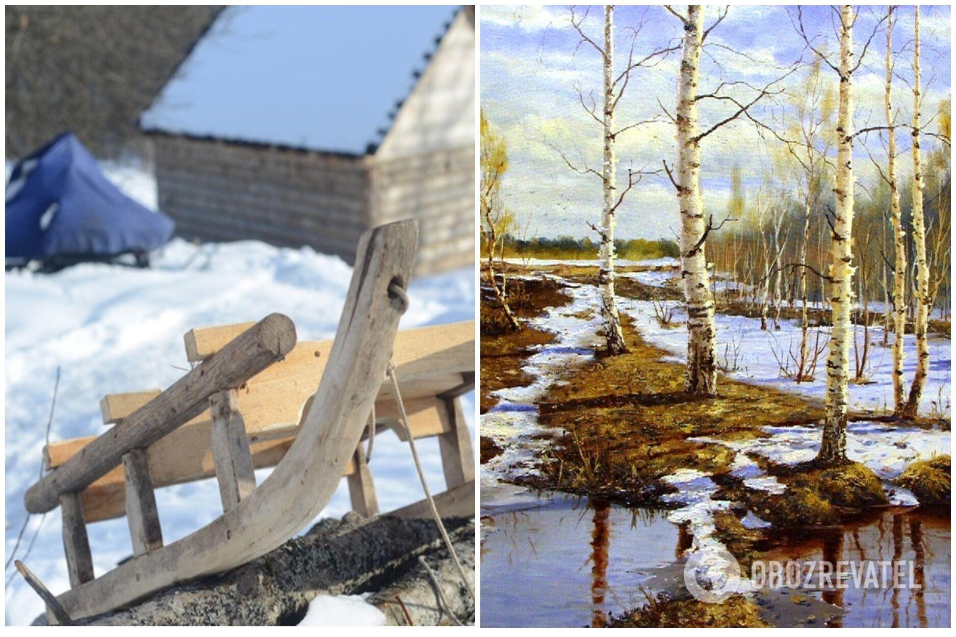 Считалось, что 3 апреля – последняя возможность прокатиться на санках по тающему снегу