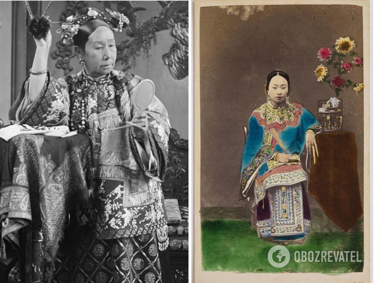 В Китае времен династии Цин у женщин больше всего ценились огромные ногти