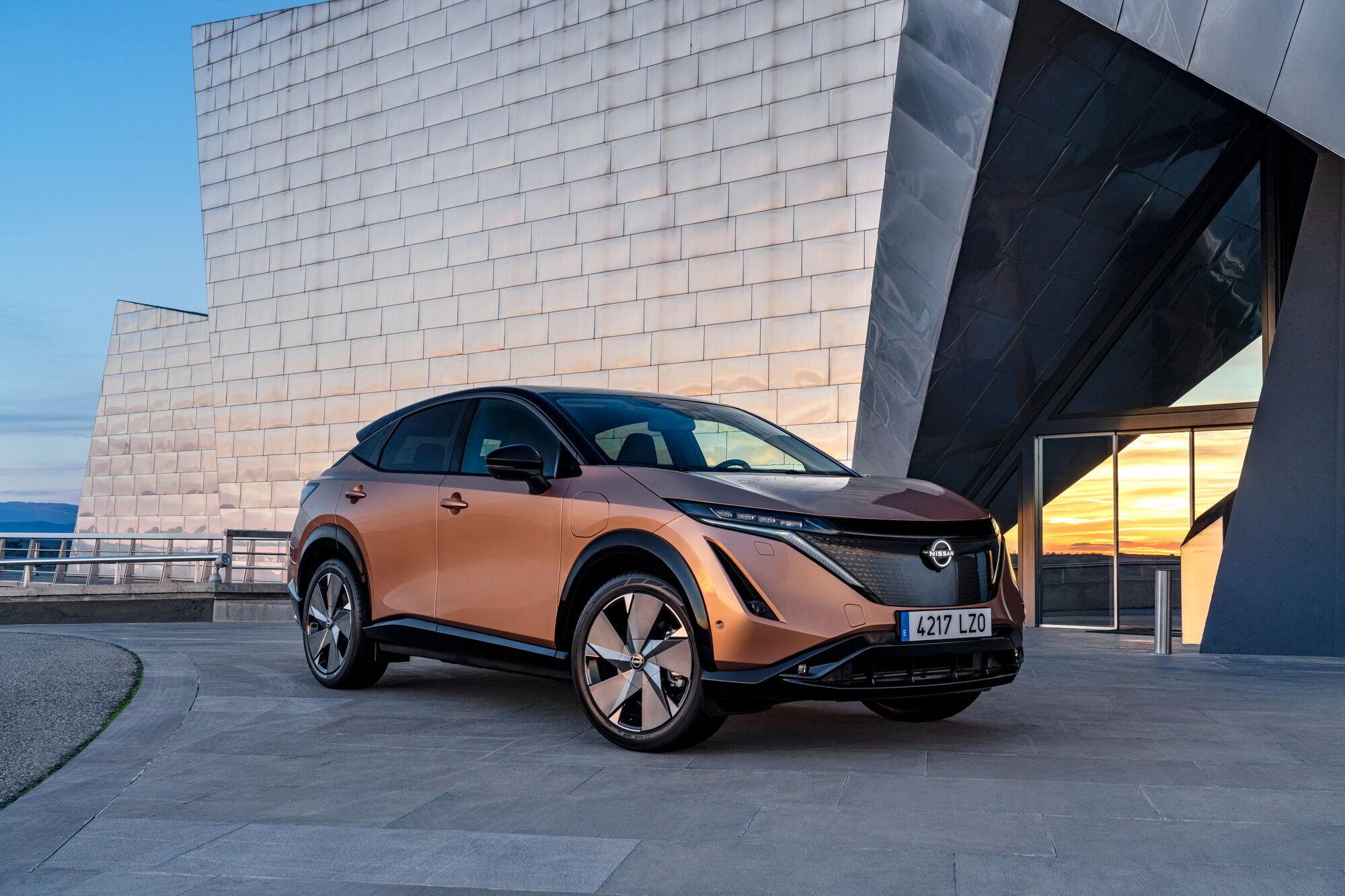 Nissan Ariya зовсім скоро з'явиться в європейських шоу-румах
