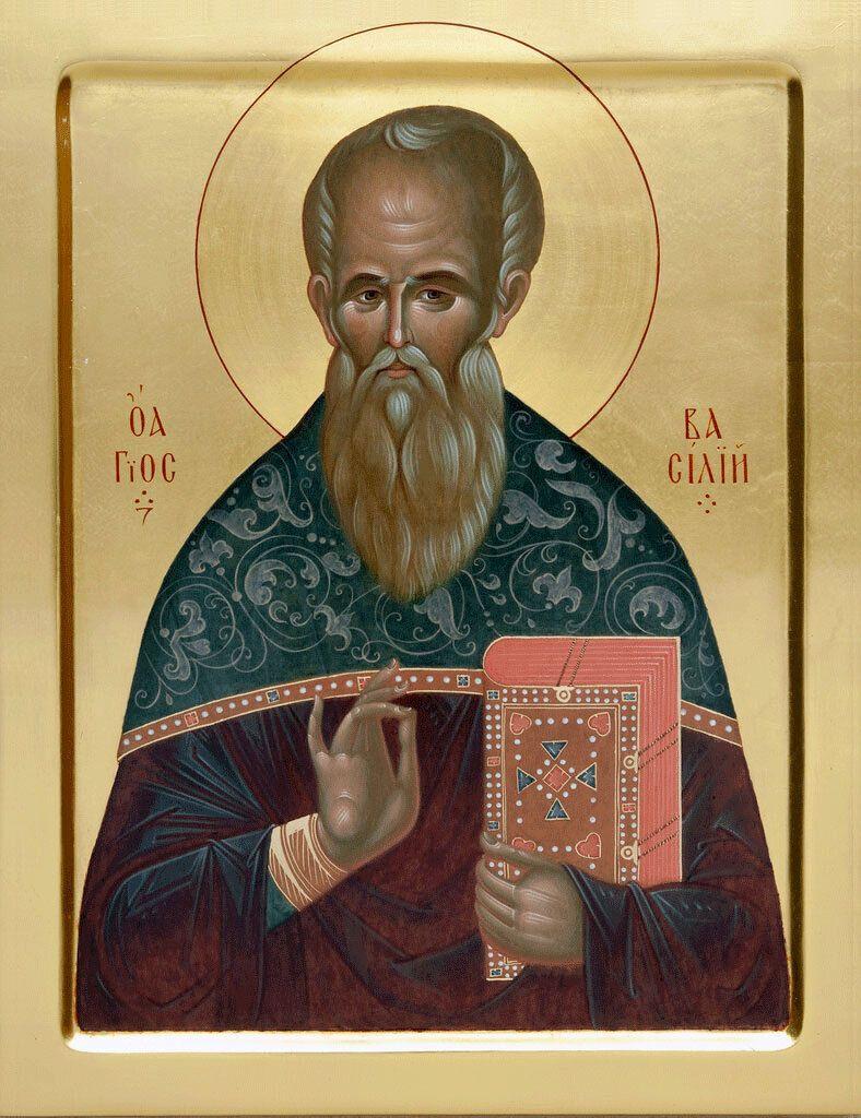 Василий Анкирский жил в 4 веке в Анкире