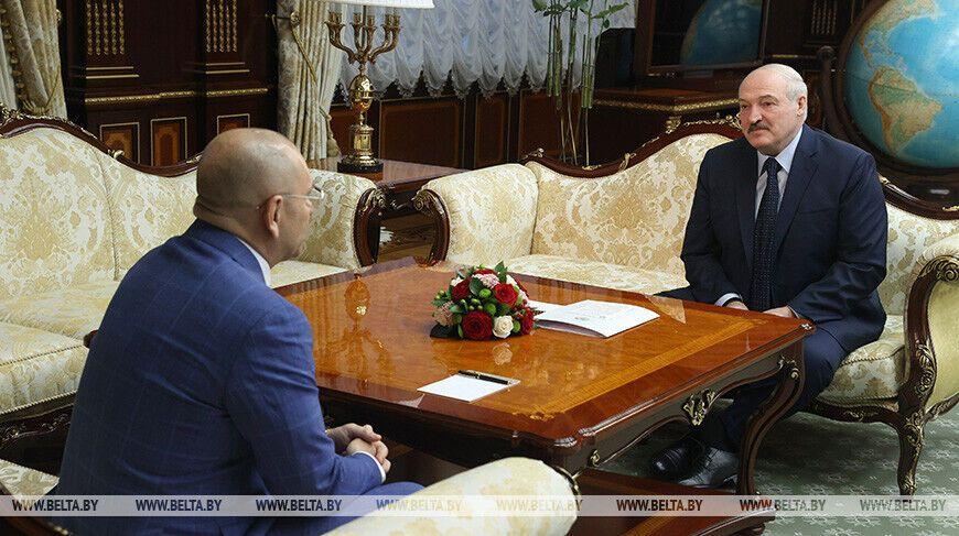 Шевченко і Лукашенко